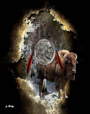 American Indian Dreamcatcher Poster by G Berry