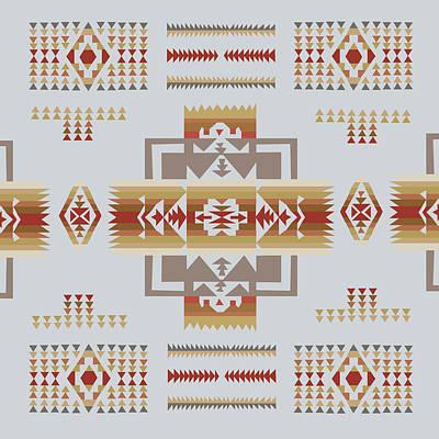 American Native Art No. 14 Poster by Henrik Bakmann