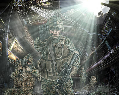 American Patriots Poster by Mark Allen