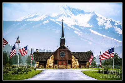 American Soldiers Chapel Poster by Nancy Forehand