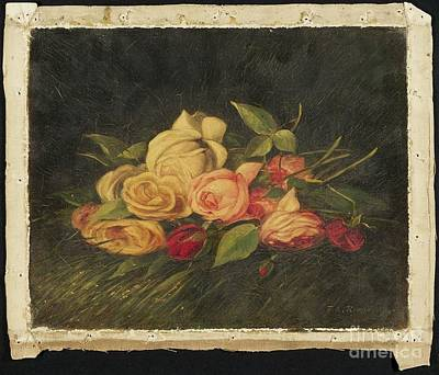 American Title Roses Poster by Thomas Addison