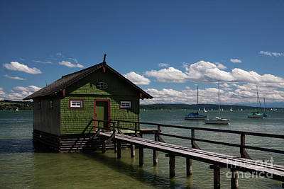 Ammersee Poster by Stephen Smith
