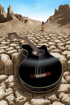 An Acoustic Nightmare 2 Poster by Mike McGlothlen