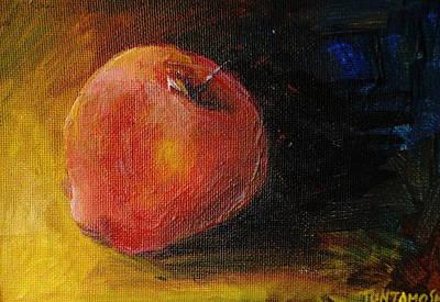 An Apple - A Solitude Poster by Jun Jamosmos