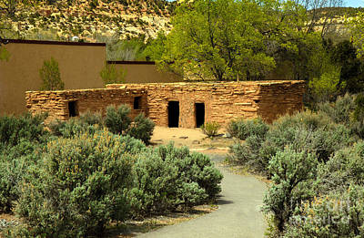 Anasazi  Buildings Poster by Robert Bales