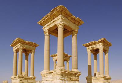Ancient Palmyra Poster by Roman School