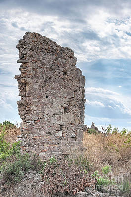 Ancient Shop Ruins In Side Poster by Antony McAulay