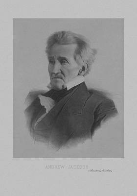 Andrew Jackson Poster by War Is Hell Store