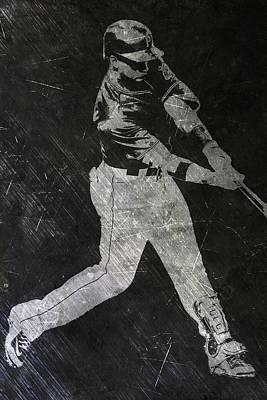 Andrew Mccutchen Pittsburgh Pirates Art Poster by Joe Hamilton