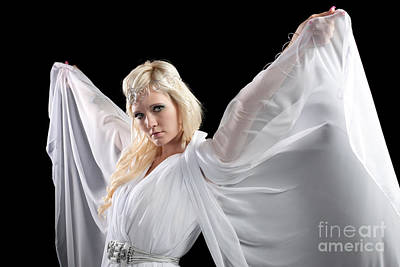 Angel Goddess Poster by Cindy Singleton
