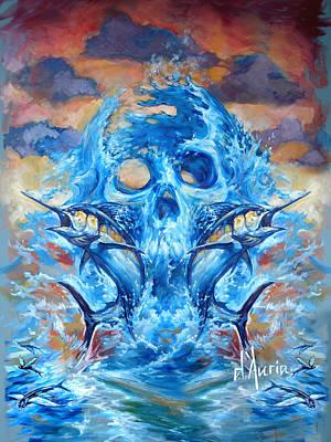 Angler Heat II Poster by Tom Dauria