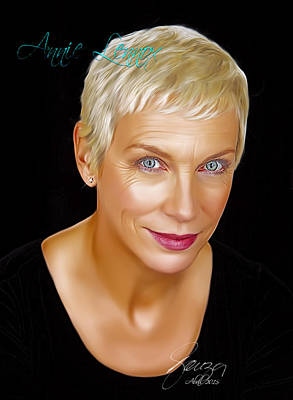 Annie Lennox Poster by Paulo Souza