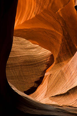 Antelope Canyon No 3 Poster by Adam Romanowicz