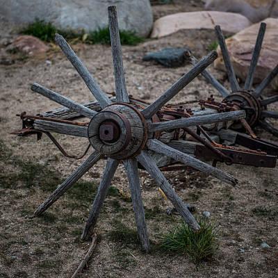 Antique Wagon Wheel Poster by Paul Freidlund