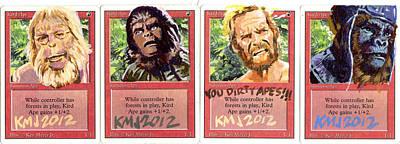 Apes Is Apes Poster by Ken Meyer jr