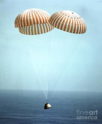 Apollo 9 Water Landing Poster by NASA / Science Source