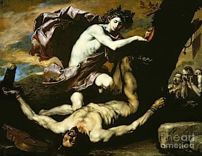 Apollo And Marsyas Poster by Jusepe de Ribera