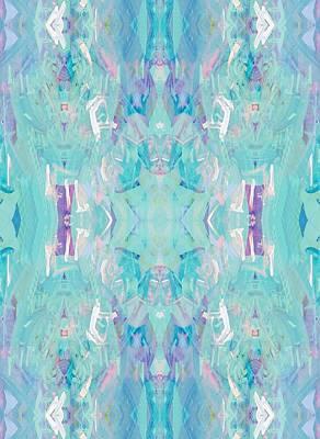 Aqua Poster by Beth Travers