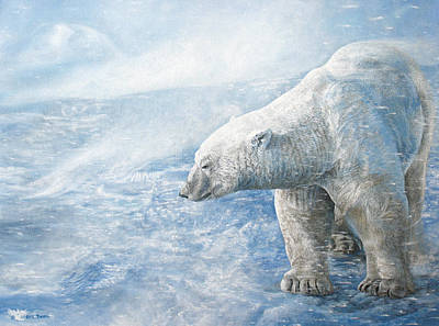 Arctic Sovereign Poster by Cara Bevan