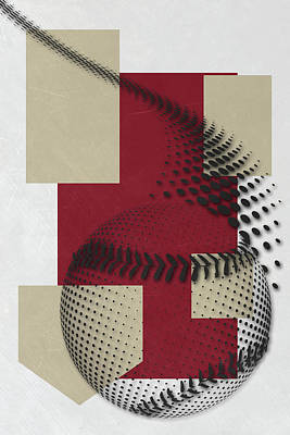 Arizona Diamondbacks Art Poster by Joe Hamilton