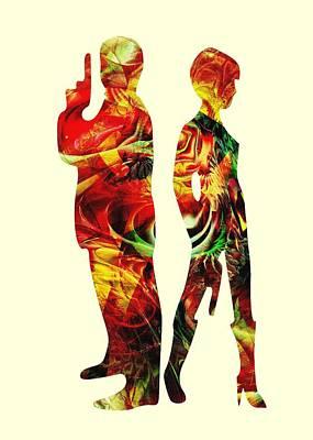 Armed Poster by Anastasiya Malakhova