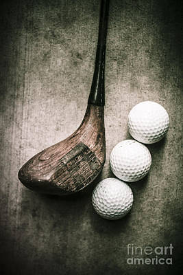 Art Of Golfing Poster by Jorgo Photography - Wall Art Gallery