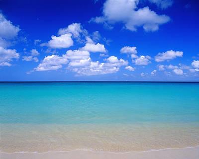 Aruba Sky And Sea Poster by Robert Ponzoni