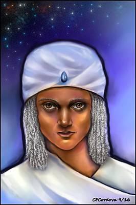 Ascended Master Poster by Carmen Cordova