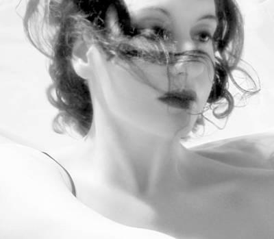 Ascension - Self Portrait Poster by Jaeda DeWalt