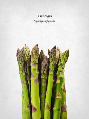 Asparagus Poster by Mark Rogan