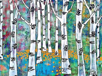 Aspen Bright Poster by Amy Sorrell
