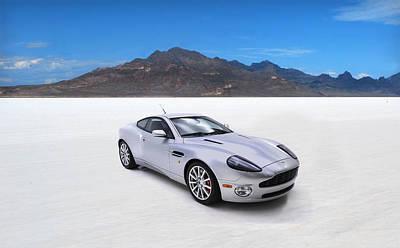 Aston Martin Vanquish Poster by Mark Rogan