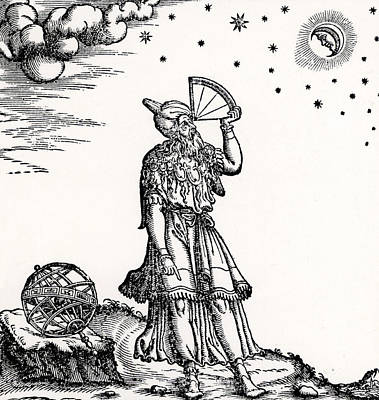 Astronomer, Probably Ptolemy Of Alexandria Poster by Venetian School