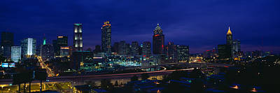 Atlanta Skyline After Olympics, Georgia Poster by Panoramic Images