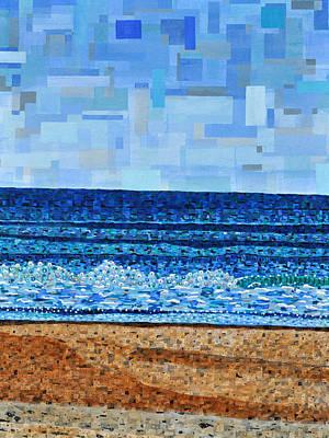 Atlantic Beach In July Poster by Micah Mullen