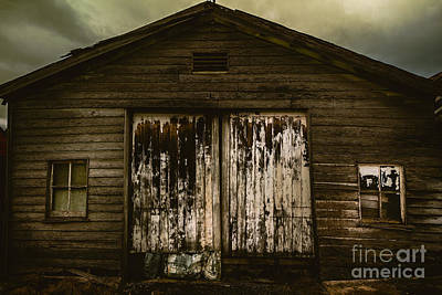 Atmospheric Farm Scenes Poster by Jorgo Photography - Wall Art Gallery