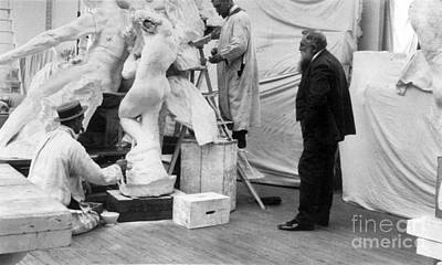 Auguste Rodin, French Sculptor Poster by Science Source
