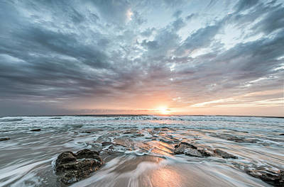 Augustine Sunrise Poster by Jon Glaser