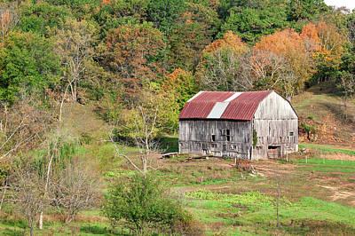 Autumn Barn Poster by Todd Klassy