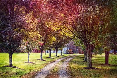 Autumn Charm Poster by Debra and Dave Vanderlaan