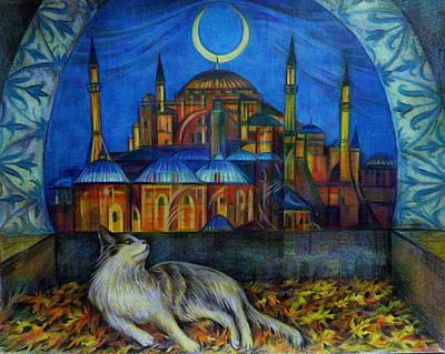 Autumn In Istanbul Poster by Anna Duyunova