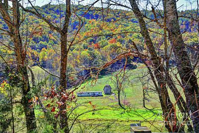 Autumn In The Valley  Poster by Savannah Gibbs