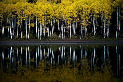 Autumn Mirror Poster by Dustin  LeFevre