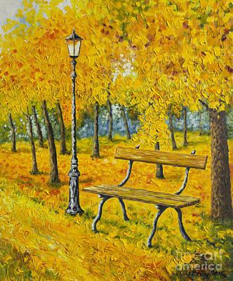 Autumn Park Poster by Veikko Suikkanen
