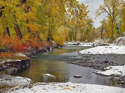 Autumn Stillness Poster by Leland D Howard