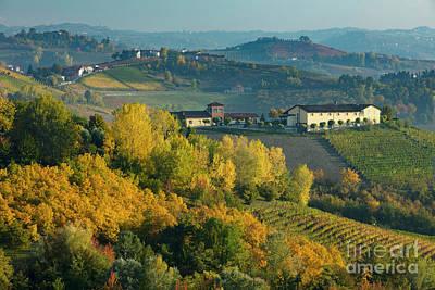 Autumn Valley - Piemonte Poster by Brian Jannsen