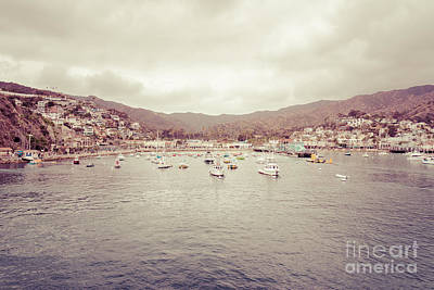 Avalon Bay Catalina Island California Picture Poster by Paul Velgos