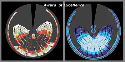 Award Of Excellence Graphic Signature Art By Navin Joshi Poster by Navin Joshi