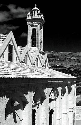 Ayios Neophytos Monastery View Poster by John Rizzuto