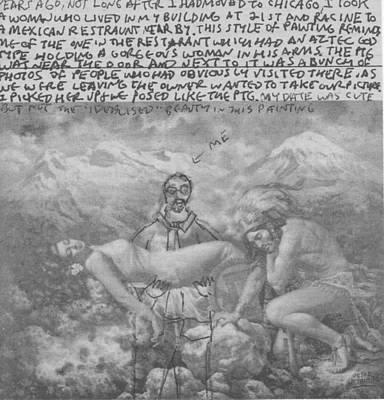 Aztec Poster by William Douglas